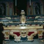 Ensemble du maître d'autel de Sainte-Lucie