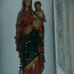 Statue petite nature de la Vierge du Rosaire