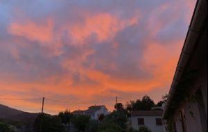 Coucher de soleil à Termini Bianc