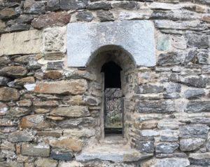 Fenêtre Chapelle San Petru - Talasani