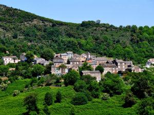 Village Talasani vu du ciel