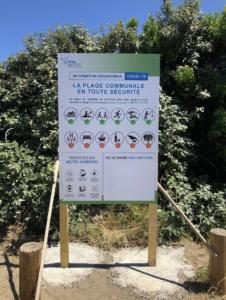 Réouverture plages Affiche Costa Verde Talasani