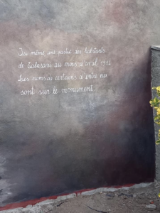 Mural de Talasani au Village