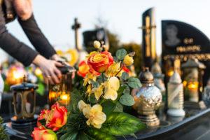 Nettoyage du cimetière