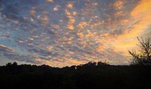 Ciel nuageux à Talasani