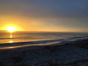 Un matin sur la plage de Figaretto