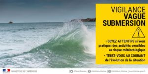 "Vigilance Jaune ""Vagues-Submersions"""