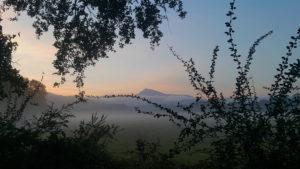 """Le Village de Vacances """"Albarella"""" sous la brume"""