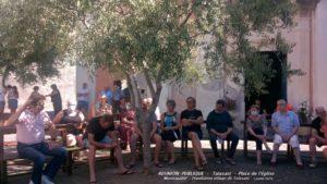 Réunion Publique au Village - Talasani Place de l'église