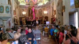 """Chants corses """"Groupe Tavagna"""" - Église Sainte-Lucie de Talasani"""