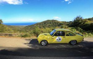 Passage du Tour de Corse Historique 2021 au Village de Talasani